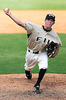 13 April 2008: Florida International pitcher Carlos Martinez (2) pitches in relief in the eighth inning of the Middle Tennessee 11-8 victory over FIU in 10 innings at University Park Stadium in Miami, Florida.