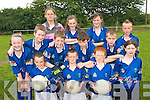 FUTURE STARS: Young football from the Castleisland District enjoying the Kerry VHI Cul Camp in Castleisland on Friday last..Front L/r. Rebecca Kerins (Scartaglin), Con McCarthy (Castleisland), Kevin Neligan (Castleisland), Jane Lynch (Castleisland)..Second row L/r. Leanne O'Riordan (Scartaglin). James McAuliffe (Castleisland), Padraig O'Connell (Castleisland), Tomas Lyons (Castleisland), Shane O'Connell (Castleisland), Sean O'Donoghue (Castleisland)..Back L/r. Noelle Scanlon (Currow), Emer Lyons (Ballymacelligott) and Lisa Browne (Castleisland).   Copyright Kerry's Eye 2008