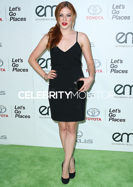 BURBANK, CA, USA - OCTOBER 18: Rachelle Lefevre arrives at the 2014 Environmental Media Awards held at Warner Bros. Studios on October 18, 2014 in Burbank, California, United States. (Photo by Xavier Collin/Celebrity Monitor)