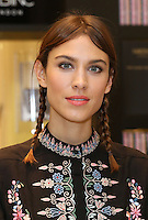 Alexa Chung collaboration with Nails INC - The Alexa Editions photocall at Selfridges, London. 20/11/2014 Picture by: James Smith / Featureflash