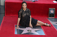 APR 16 Eva Longoria Honored With Star on The Hollywood Walk Of Fame