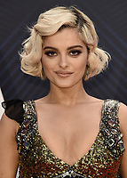 NASHVILLE, TN - NOVEMBER 14:  Bebe Rexha at the 52nd Annual CMA Awards at the Bridgetone Arena on November 14, 2018 iin Nashville, Tennessee. (Photo by Scott Kirkland/PictureGroup)