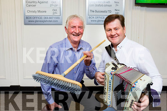 Neily O'Connor and Connie O'Connor whose went viral this week after they were recorded doing the brush dance at the Ploughing championships