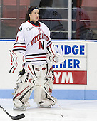 Leah Sulyma (NU - 1) - The Northeastern University Huskies defeated the Union College Dutchwomen 4-1 on Saturday, October 3, 2009, at Matthews Arena in Boston, Massachusetts.