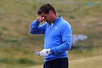Robert Rock (ENG) on the 6th during Round 2 of the Irish Open at LaHinch Golf Club, LaHinch, Co. Clare on Friday 5th July 2019.<br /> Picture:  Thos Caffrey / Golffile<br /> <br /> All photos usage must carry mandatory copyright credit (© Golffile | Thos Caffrey)
