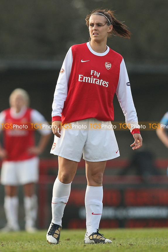 Julie Fleeting of Arsenal - Arsenal Ladies vs Linkoping - UEFA Women's Champions League Quarter Final 1st Leg at Boreham Wood FC - 17/03/11 - MANDATORY CREDIT: Gavin Ellis/TGSPHOTO - Self billing applies where appropriate - Tel: 0845 094 6026