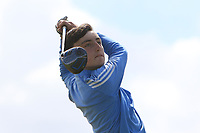 James Nolan (Birr) on the 14th tee during the Final round in the Connacht U16 Boys Open 2018 at the Gort Golf Club, Gort, Galway, Ireland on Wednesday 8th August 2018.<br /> Picture: Thos Caffrey / Golffile<br /> <br /> All photo usage must carry mandatory copyright credit (&copy; Golffile   Thos Caffrey)