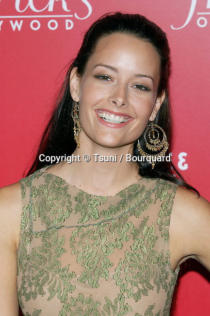Amelia Cooke arriving at the Of Corsets for a Good Cause Benefit at the Rosevelt Hotel in Los Angeles. October 20, 2004.