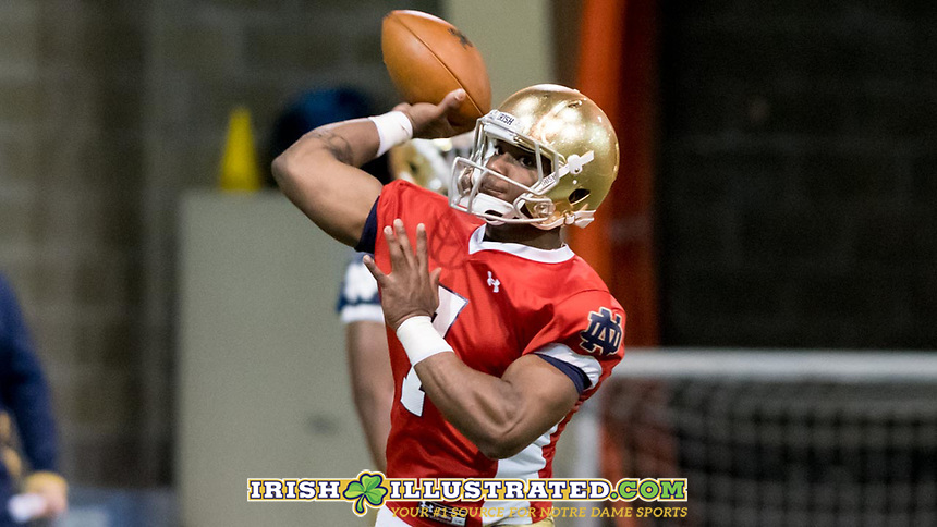 QB Brandon Wimbush (7)
