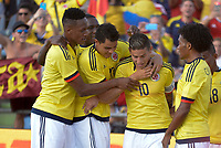 Colombia (COL) vs Camerun (CMR), 13-06-2017. Amistoso / friendly