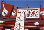 Tony's Burgers, Downtown,1978