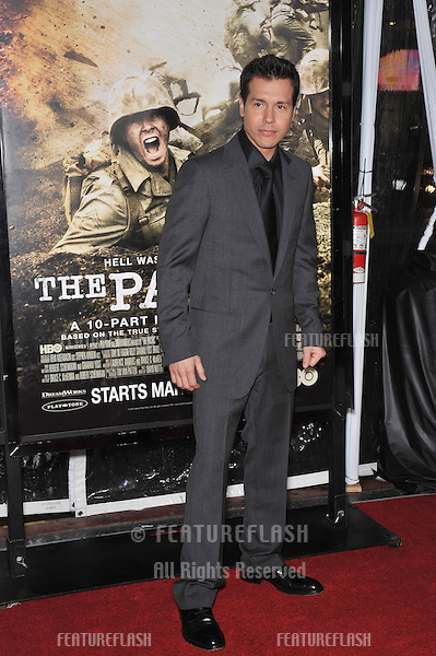"Jon Seda at the premiere of his new HBO miniseries ""The Pacific"" at Grauman's Chinese Theatre, Hollywood..February 24, 2010  Los Angeles, CA.Picture: Paul Smith / Featureflash"