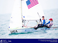 Youth Worlds 2017: Carmen and Emma Cowles (USA)