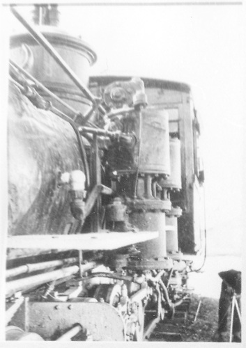 Detail of left-side air pumps and boiler on a C-16.  (Dorman arranged this picture with the rest of #278 pictures.)<br /> D&amp;RGW