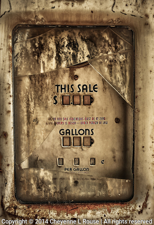This Sale - Old Gas Pump