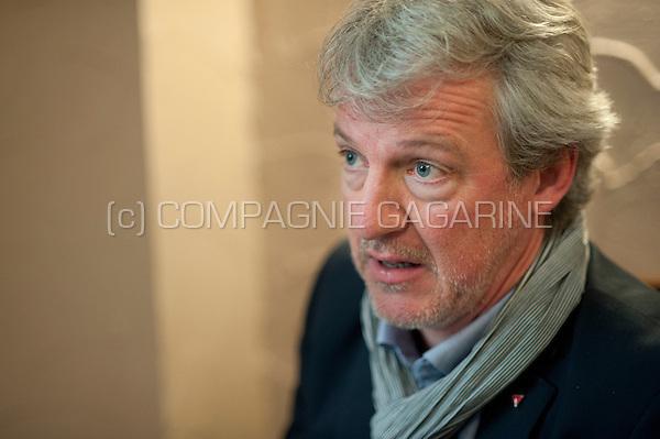 Belgian politician and scientist Philippe Mettens (Belgium, 09/11/2015)