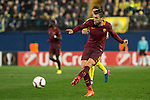 Kevin Strootman of AS Roma runs with the ball during the match Villarreal CF vs AS Roma during their UEFA Europa League 2016-17 Round of 32 match at the Estadio de la Cerámica on 16 February 2017 in Villarreal, Spain. Photo by Maria Jose Segovia Carmona / Power Sport Images