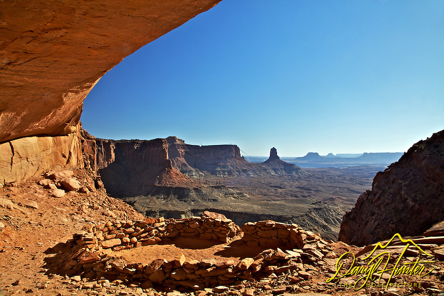False Kiva,  Moab, Utah, Canyonlands, Arches, National Park, Utah