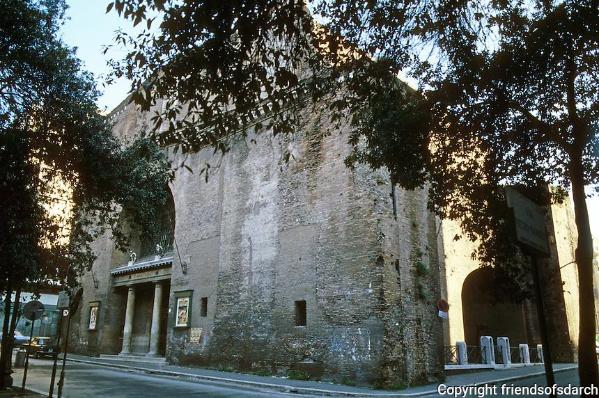 Italy: Rome--Roman Structure, now Movie House. Il Planeterio. Photo '82.
