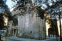 Italy: Rome--Roman Structure, now Movie House. Il Planeterio. Photo '82.
