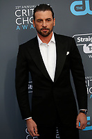 Skeet Ulrich attends the 23rd Annual Critics' Choice Awards at Barker Hangar in Santa Monica, Los Angeles, USA, on 11 January 2018. Photo: Hubert Boesl - NO WIRE SERVICE - Photo: Hubert Boesl/dpa /MediaPunch ***FOR USA ONLY***