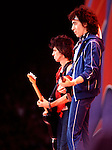 Rolling Stones 1982 Keith Richards and Bill Wyman..