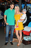 Sarah Jayne Dunn and her family at the &quot;Thomas &amp; Friends: Big World! Big Adventures!&quot; UK film premiere, Vue West End, Leicester Square, London, England, UK, on Saturday 07 July 2018.<br /> CAP/CAN<br /> &copy;CAN/Capital Pictures