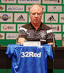 Jimmy Nicholl with represenatives of the other teams at the launch of the Florida Cup in Orlando