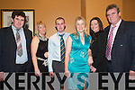 Social: Enjoying the Clounmacon Community Centre social in the Arms Hotel on Saturday night were l-r: Declan Finucane, Geraldine Sheehy, Marie OConnor, Mike Kissane, Marina Bourke and Joe Sheehy at the Clounmacon Social in the Arms Hotel on Saturday night..