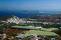 Spanien, Kanarische Inseln, Gran Canaria, Arucas, Blick vom Montaña de Arucas