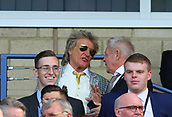 June 10th 2017, Hampden park, Glasgow, Scotland; World Cup 2018 Qualifying football, Scotland versus England; Rod Stewart watches from the stand