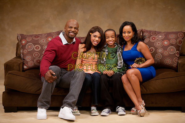 Are We There Yet? (2010-2012) <br /> From left to right: Nick Persons (Terry Crews), Lindsey Kingston (Teala Dunn), Kevin Kingston (Coy Stewart), and Suzanne Kingston (Essence Atkins) <br /> *Filmstill - Editorial Use Only*<br /> CAP/KFS<br /> Image supplied by Capital Pictures
