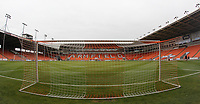 A general view of Bloomfield Road Stadium the home of Blackpool Football Club<br /> <br /> Photographer Mick Walker/CameraSport<br /> <br /> The EFL Sky Bet League One - Blackpool v Bristol Rovers - Saturday 3rd November 2018 - Bloomfield Road - Blackpool<br /> <br /> World Copyright © 2018 CameraSport. All rights reserved. 43 Linden Ave. Countesthorpe. Leicester. England. LE8 5PG - Tel: +44 (0) 116 277 4147 - admin@camerasport.com - www.camerasport.com
