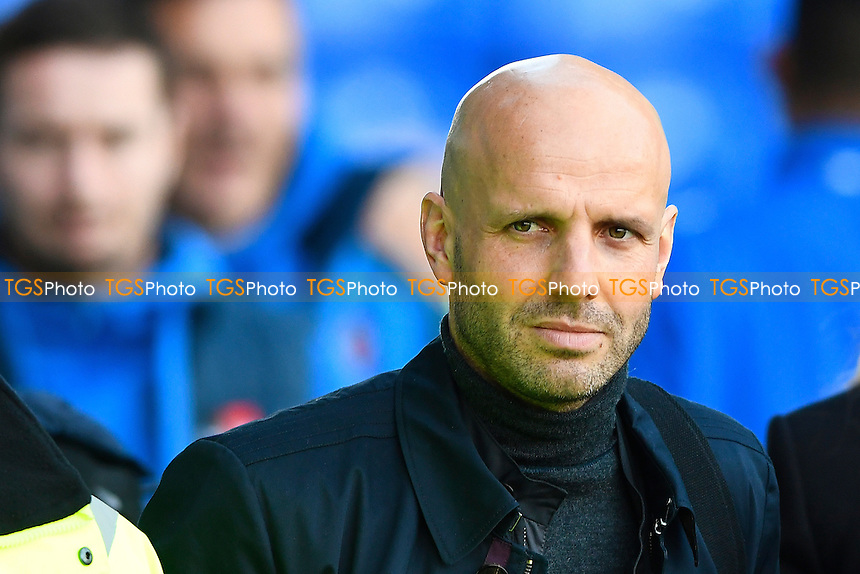 Exeter City Manager Paul Tisdale during Portsmouth vs Exeter City, Sky Bet EFL League 2 Football at Fratton Park on 28th January 2017