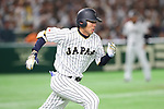 Shogo Akiyama (JPN), <br /> MARCH 14, 2017 - WBC : <br /> 2017 World Baseball Classic <br /> Second Round Pool E Game <br /> between Japan 8-5 Cuba <br /> at Tokyo Dome in Tokyo, Japan. <br /> (Photo by YUTAKA/AFLO SPORT)