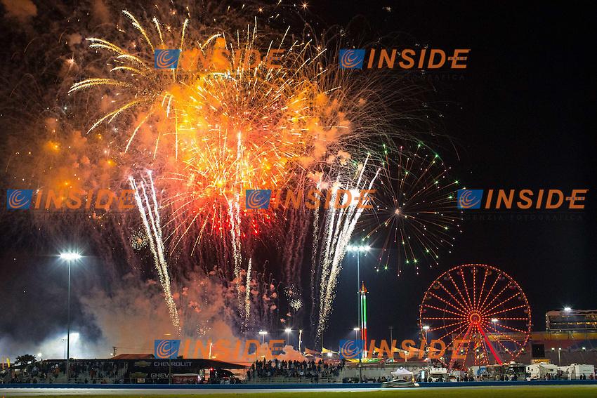 Vista generale.27/1/2013 Daytona.Automobilismo Grand AM 24h di Daytona .Foto Andrew Hall / Vision Sport / Panoramic / Insidefoto.ITALY Only