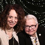 Rebecca Taichman and Paula Vogel attend the 2017 Tony Awards Meet The Nominees Press Junket at the Sofitel Hotel on May 3, 2017 in New York City.