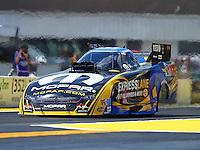 Mar 20, 2016; Gainesville, FL, USA; NHRA funny car driver Matt Hagan during the Gatornationals at Auto Plus Raceway at Gainesville. Mandatory Credit: Mark J. Rebilas-USA TODAY Sports