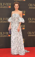 Kara Tointon at the Olivier Awards 2018, Royal Albert Hall, Kensington Gore, London, England, UK, on Sunday 08 April 2018.<br /> CAP/CAN<br /> &copy;CAN/Capital Pictures<br /> CAP/CAN<br /> &copy;CAN/Capital Pictures