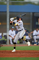 GCL Pirates Jase Bowen (26) at bat during a Gulf Coast League game against the GCL Rays on August 7, 2019 at Charlotte Sports Park in Port Charlotte, Florida.  GCL Rays defeated the GCL Pirates 4-1 in the first game of a doubleheader.  (Mike Janes/Four Seam Images)