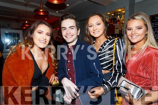 Enjoying the Lip Sync Battle in the Sea Lodge Waterville on Saturday night were l-r; Saidbh O'Sullivan, Conor O'Sullivan, Ciara Fogarty & Alanna O'Sullivan.