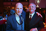 25.05.2013, Grosvenor House, London, Bankett Champions League Finale, FC Bayern Muenchen, im Bild     Matthias Sammer (L), sporting director of FC Bayern Muenchen attends with Martin Winterkorn, chief executive officer of Volkswagen AG the Bayern Muenchen Champions League Finale      Foto © nph