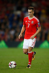 Tom Lawrence of Wales during the World Cup Qualifying Group D match at the Cardiff City Stadium, Cardiff. Picture date 2nd September 2017. Picture credit should read: Simon Bellis/Sportimage