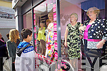 Shaws had a Mothers Day Live window on Saturday with Mothers Modeling Michael H Fashions.