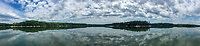 Penobscot Bay Panorama, Castine, Maine, US