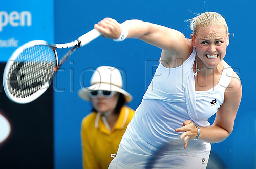 21 01 2011  Pictures Tennis WTA Australian Open Melbourne Australia 21 Jan 11 Tennis WTA Tour Grand Slam Australian Open 2011 Picture shows Anna Lena Groenefeld ger