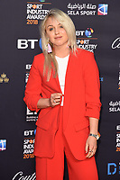 Amy Fuller<br /> arriving for the BT Sport Industry Awards 2018 at the Battersea Evolution, London<br /> <br /> ©Ash Knotek  D3399  26/04/2018