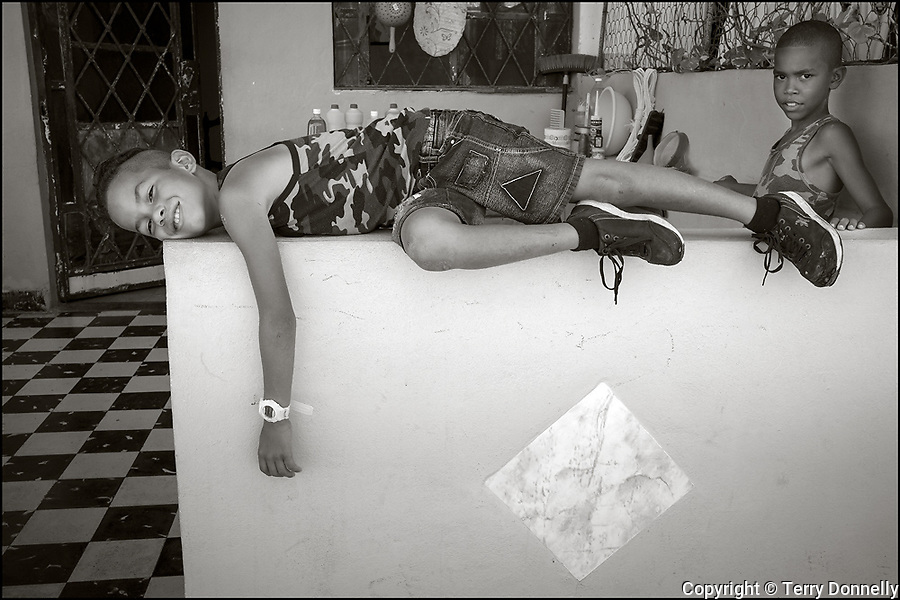Cojimar, Cuba:<br /> people of Cojimar