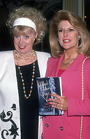 Sheila & Meredith McRae, 1992, Photo By Michael Ferguson/PHOTOlink