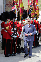 Prince Charles and Camilla attend Waterloo commemoration service - Belgium
